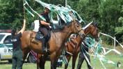 Ukážka Jazdeckej polície