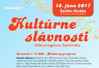 Kultúrne slávnosti 18.06.2017