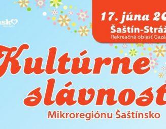 Kultúrne slávnosti Mikroregión Šaštínsko 17.06.2018