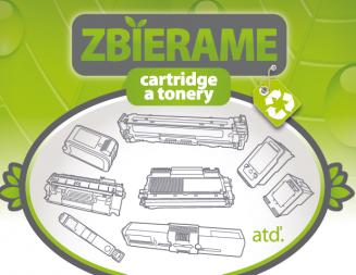 Zber použitých atramentových cartridgov a laserových tonerov z tlačiarní
