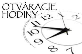 Obecný úrad – otváracie hodiny